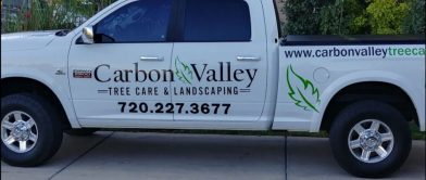 Carbon Valley Tree Care Truck